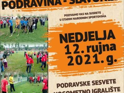 Susret Podravina - Slavonija - natjecanje u starim sportovima