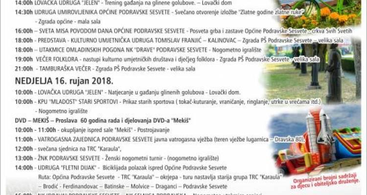 Program Dana općine Podravske Sesvete