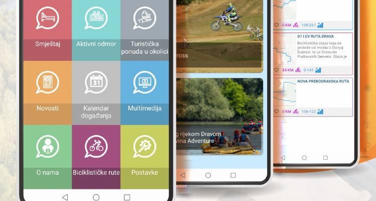 Preuzmi našu novu mobilnu aplikaciju Explore Dravski Peski