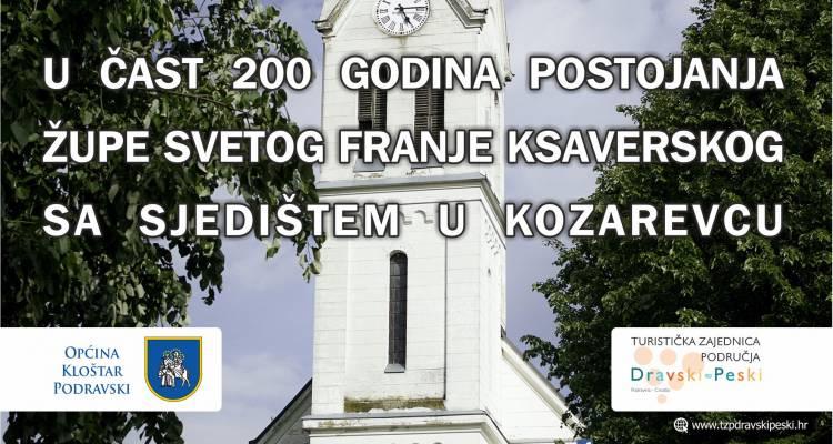 Svečana akademija povodom 200. godina postojanja Župe svetog Franje Ksaverskog Kozarevac